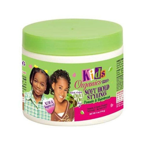 Africa's Best - Kids Organics Soft Hold Styling Pomade 4 oz