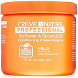 Creme of Nature Professional - Sunflower and Coconut Oil Conditioning Relaxer 15 oz