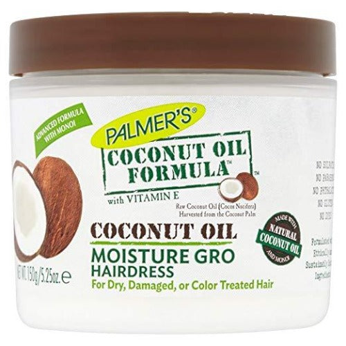 Palmer's Coconut Oil Formula Moisture Gro Hairdress 5.25 oz
