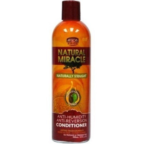 African Pride Natural Miracle Anti-Humidity Conditioner 12 oz