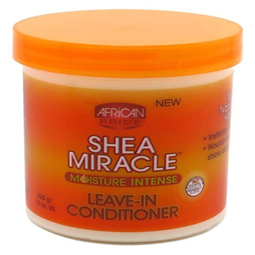 African Pride - Shea Miracle Moisture Intense Leave-In Conditioner 15 oz