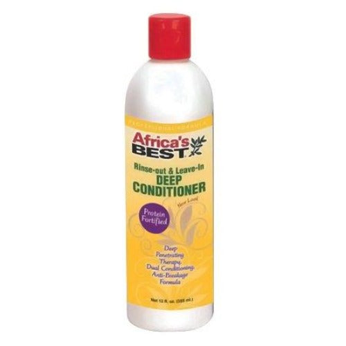 Africa's Best - Rinse-Out and Leave-In Deep Conditioner 12 fl oz