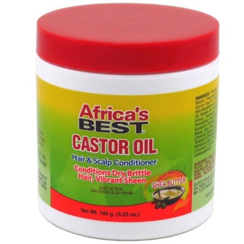 Africa's Best - Castor Oil Hair and Scalp Conditioner 5.25 oz