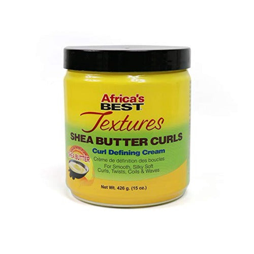 Africa's Best Textures - Shea Butter Curls Curl Defining Cream 15 oz