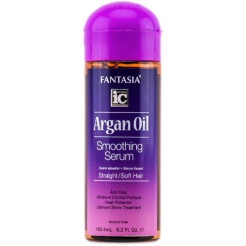 Fantasia IC - Argan Oil Smoothing Serum for Straight and Soft Hair 6.2 fl oz