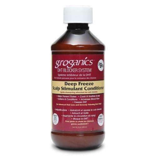 Groganics - DHT Blocker Deep Freeze Scalp Stimulant Conditioner 8 oz
