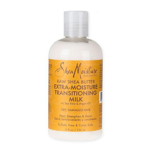 Shea Moisture - Raw Shea Butter Extra-Moisture Transitioning Milk 8 oz