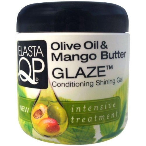 Elasta QP - Olive Oil and Mango Butter Glaze Conditioning Shining Gel 6 oz