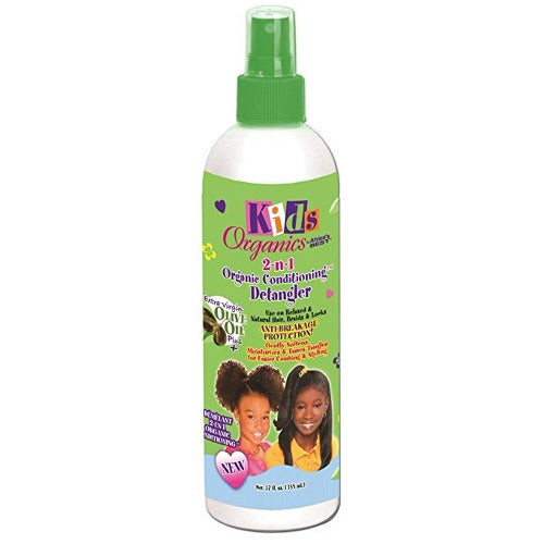 Africa's Best - Kids Organics 2n1 Natural Conditioning Detangler 12 fl oz