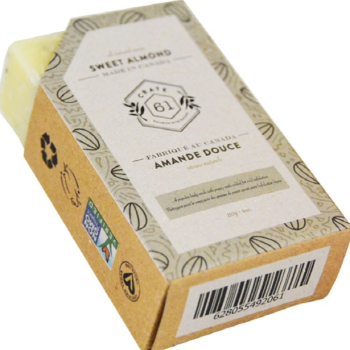CRATE61 ORGANICS - ALMOND SOAP