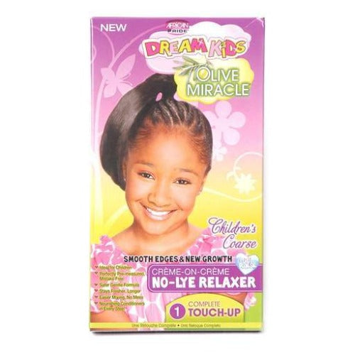 African Pride - Dream Kids Children's Coarse No-Lye Relaxer 1 Touch-Up 1.5 oz