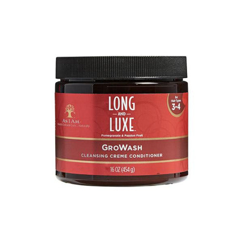 As I Am - Long and Luxe GroWash Conditioner 16 oz