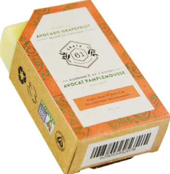 CRATE61 ORGANICS - AVOCADO GRAPEFRUIT SOAP