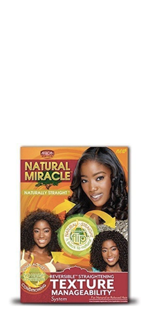 African Pride Natural Miracle Texture Manageability System Natural or Relaxed Hair