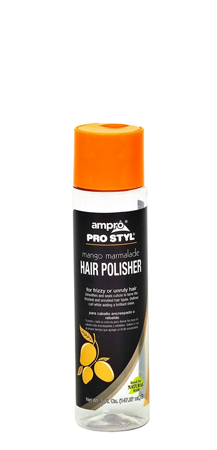 AmPro Hair Polisher Shine Serum Mango Marmalade 5 oz