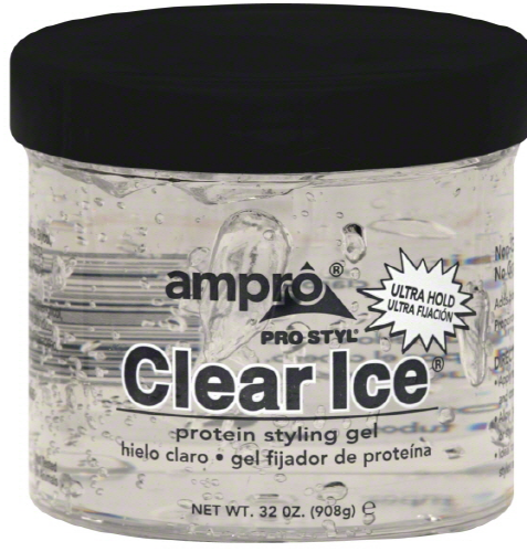Ampro - Clear Ice Ultra Hold Protein Styling Gel