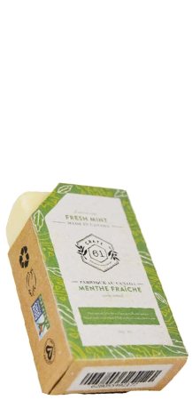 CRATE61 ORGANICS - Fresh Mint Soap