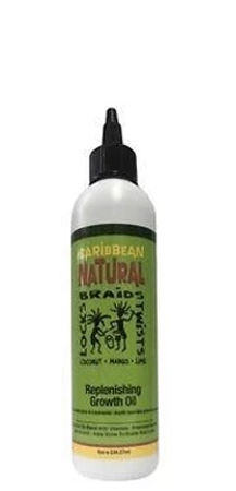 Caribbean Natural - Replenishing Growth Oil 8 oz