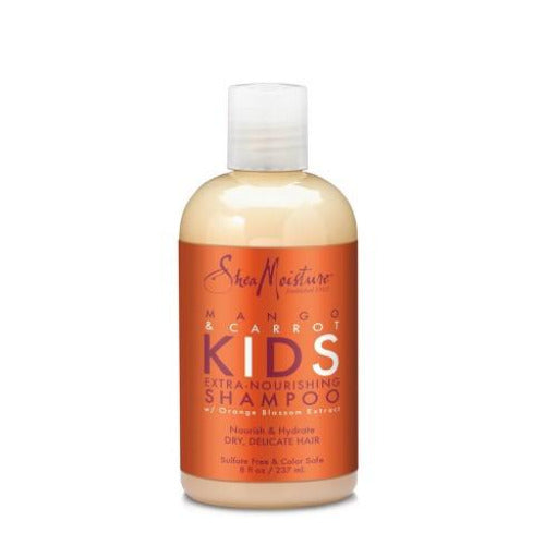 Shea Moisture - Mango and Carrot Kids Shampoo Delicate 8 fl oz