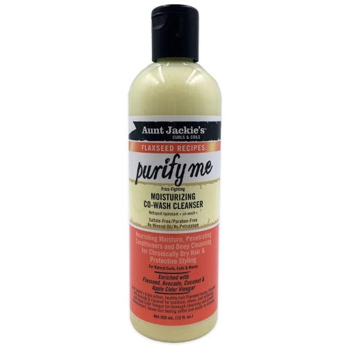 Aunt Jackie's - Curls & Coils Purify Me Moisturizing Co-Wash Cleanser 12 fl oz