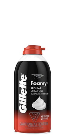 Gillette - Foamy Regular Shave Foam 11 oz