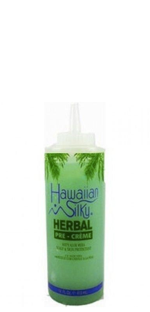 Hawaiian Silky Herbal Pre-Creme with Aloe Vera 14 fl oz