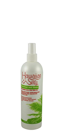 Hawaiian Silky Moisturizer and Sheen with Jojoba Oil and Tea Tree Oil 16 fl oz