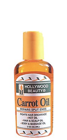 Hollywood Beauty Carrot Oil Repairs Split Ends 2 oz