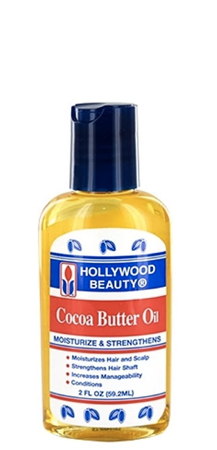 Hollywood Beauty Cocoa Butter Oil Moisturize 2 fl oz