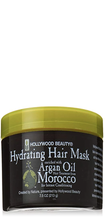 Hollywood Beauty Hydrating Hair Mask with Argan Oil from Morocco 7.5 oz