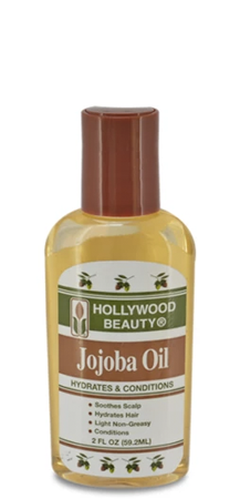 Hollywood Beauty Jojoba Oil Hydrates and Conditions 2 fl oz