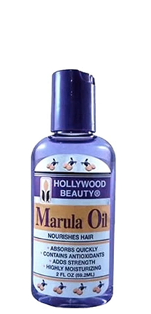 Hollywood Beauty Marula Oil Nourishes Hair 2 fl oz