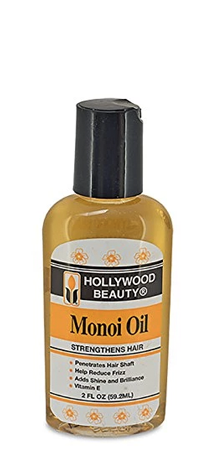 Hollywood Beauty Monoi Oil Strengthens Hair 2 fl oz