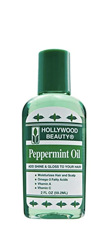 Hollywood Beauty Peppermint Oil for Shine and Gloss 2 fl oz