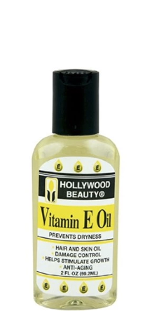 Hollywood Beauty Vitamin E Oil to Prevent Dryness 2 fl oz