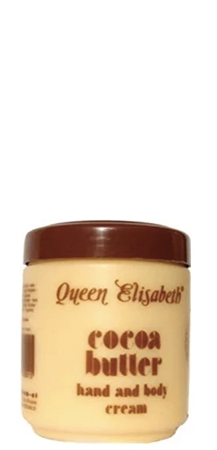 Queen Elizabeth Cocoa Butter Hand and Body Cream 16.9 fl oz