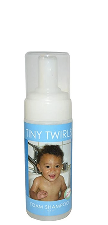 Kinky Curly Tiny Twirls Foam Shampoo 4.5 oz