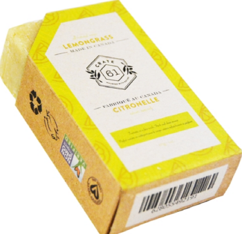 CRATE61 ORGANICS - LEMONGRASS SOAP