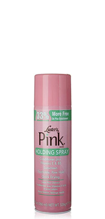Luster's - Pink Holding Spray Conditioner Plus Vitamin E and B5 12.4 fl oz
