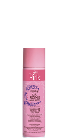 Luster's - Pink Plus 2-N-1 Scalp Soother & Sheen Spray