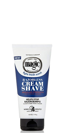 SoftSheen-Carson - Magic Razorless Cream Shave 6 oz