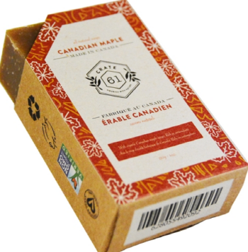CRATE61 ORGANICS - Organic Canadian Maple Soap