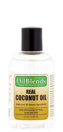Oil Blends Hair and Body Oils Real Coconut Oil 4 fl oz