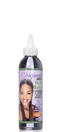 Organics by Africa's Best Itch Relief Cornrow and Braid Scalp Remedy 6 fl oz
