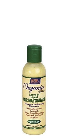 Organics by Africa's Best Leave-In Liquid Hair Mayonnaise 6 fl oz