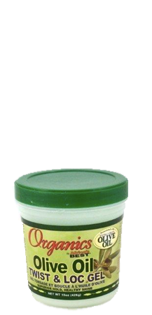 Organics by Africa's Best Olive Oil Twist and Loc Gel 15 oz