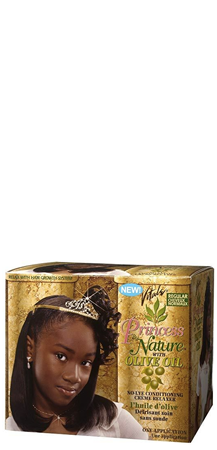 Princess by Nature with Olive Oil No-Lye Creme Relaxer Regular 1 App