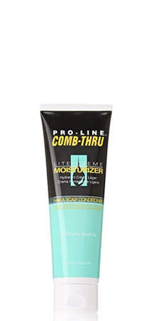 Pro-Line - Comb-Thru Lite Creme Moisturizer Hair and Scalp Conditioner 4 oz