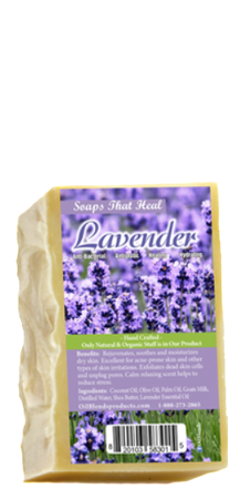 SOAPS THAT HEAL - LAVENDER
