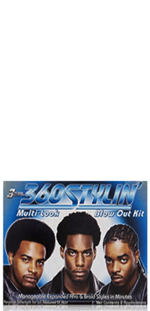 S Curl 360 Stylin Multi-Look Blow Out Kit